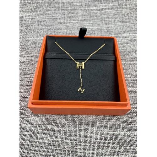 Hermes Necklace #879945 $32.00 USD, Wholesale Replica Hermes Necklace