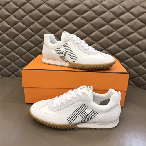 Hermes Casual Shoes For Men #879976 $80.00 USD, Wholesale Replica Hermes Casual Shoes