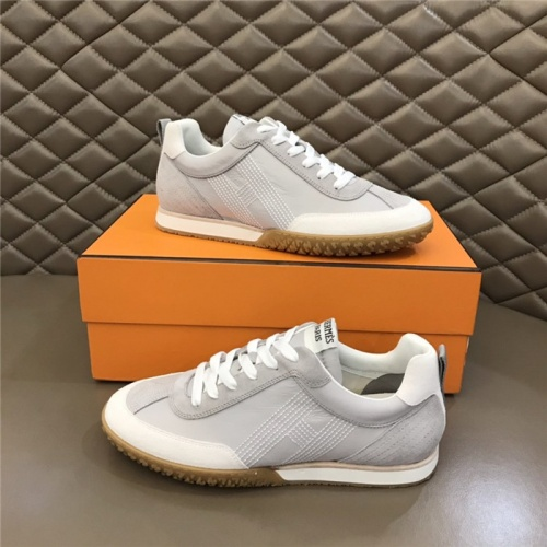 Hermes Casual Shoes For Men #879977 $80.00 USD, Wholesale Replica Hermes Casual Shoes