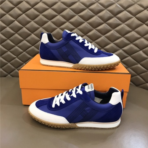 Hermes Casual Shoes For Men #879978 $80.00 USD, Wholesale Replica Hermes Casual Shoes