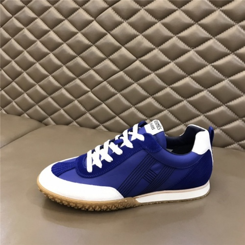 Replica Hermes Casual Shoes For Men #879978 $80.00 USD for Wholesale