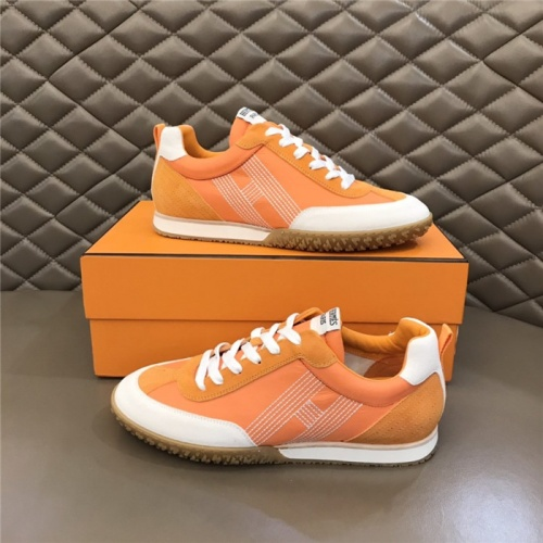 Hermes Casual Shoes For Men #879979 $80.00 USD, Wholesale Replica Hermes Casual Shoes
