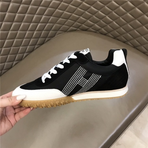 Replica Hermes Casual Shoes For Men #879980 $80.00 USD for Wholesale
