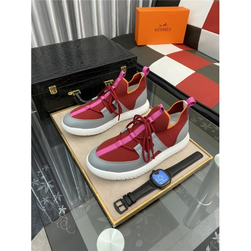 Hermes Casual Shoes For Men #879982 $76.00 USD, Wholesale Replica Hermes Casual Shoes