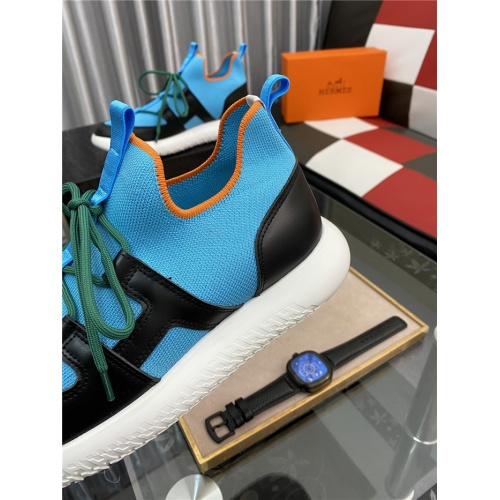 Replica Hermes Casual Shoes For Men #879984 $76.00 USD for Wholesale