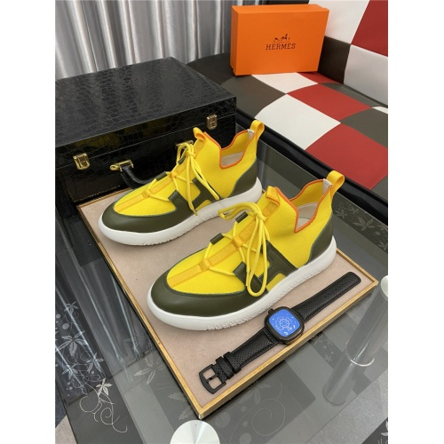 Hermes Casual Shoes For Men #879985 $76.00 USD, Wholesale Replica Hermes Casual Shoes