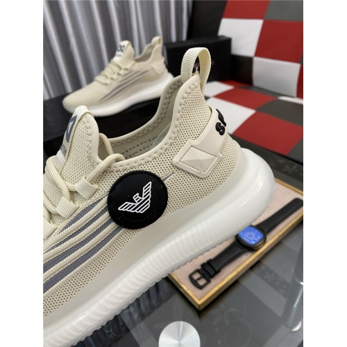 Replica Armani Casual Shoes For Men #879988 $76.00 USD for Wholesale