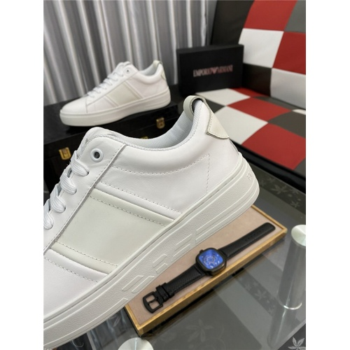 Replica Armani Casual Shoes For Men #879989 $76.00 USD for Wholesale