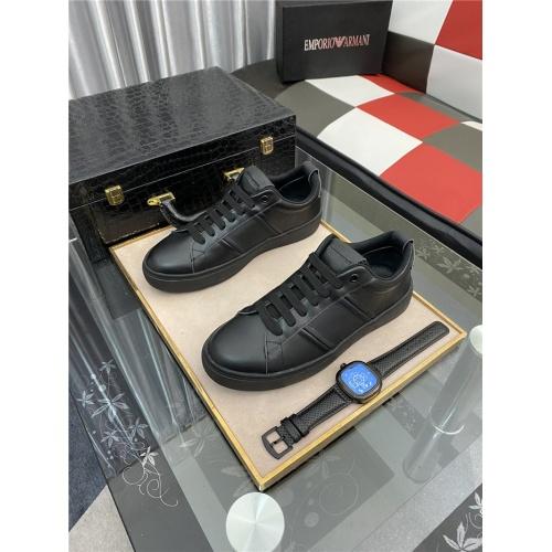 Armani Casual Shoes For Men #879991 $76.00 USD, Wholesale Replica Armani Casual Shoes