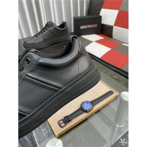 Replica Armani Casual Shoes For Men #879991 $76.00 USD for Wholesale