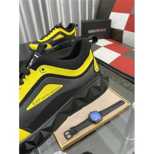 Replica Armani Casual Shoes For Men #879992 $76.00 USD for Wholesale