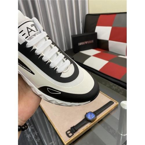 Replica Armani Casual Shoes For Men #879994 $76.00 USD for Wholesale