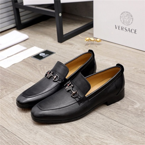 Versace Leather Shoes For Men #880000