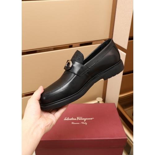 Replica Ferragamo Salvatore FS Casual Shoes For Men #880016 $92.00 USD for Wholesale