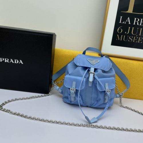 Prada AAA Backpacks For Women #880437