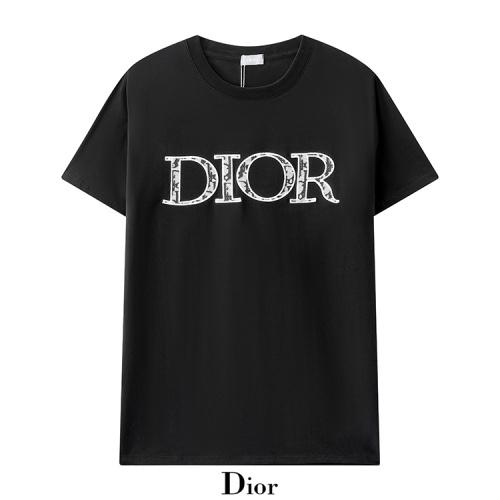 Christian Dior T-Shirts Short Sleeved For Men #880482