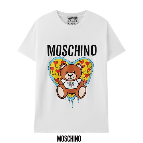Moschino T-Shirts Short Sleeved For Men #880536