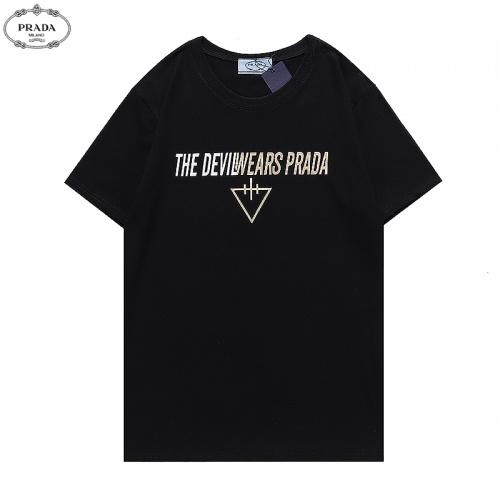 Prada T-Shirts Short Sleeved For Men #880547