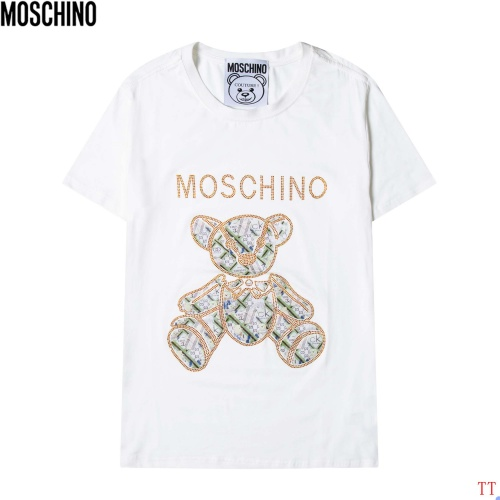 Moschino T-Shirts Short Sleeved For Men #881198