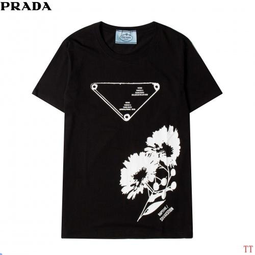 Prada T-Shirts Short Sleeved For Men #881205