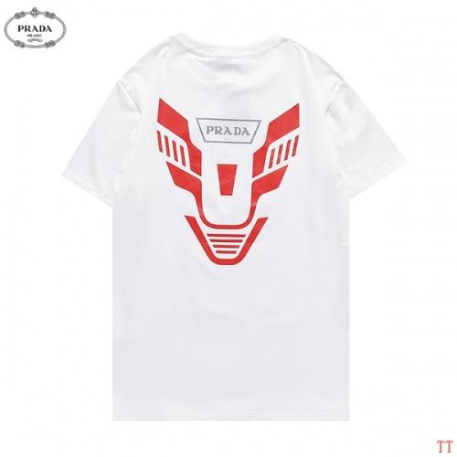 Prada T-Shirts Short Sleeved For Men #881209