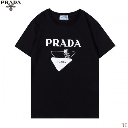 Prada T-Shirts Short Sleeved For Men #881212