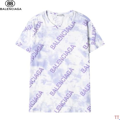 Balenciaga T-Shirts Short Sleeved For Men #881214