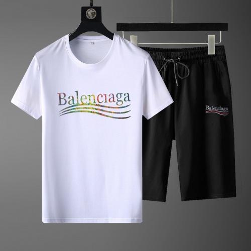 Balenciaga Fashion Tracksuits Short Sleeved For Men #881220