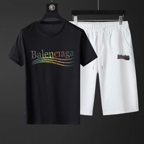 Balenciaga Fashion Tracksuits Short Sleeved For Men #881222