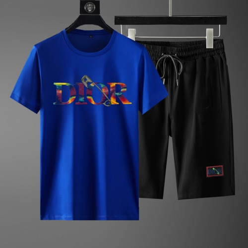 Christian Dior Tracksuits Short Sleeved For Men #881227