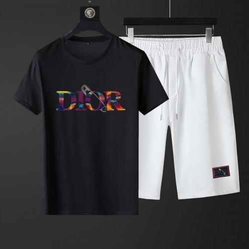 Christian Dior Tracksuits Short Sleeved For Men #881228