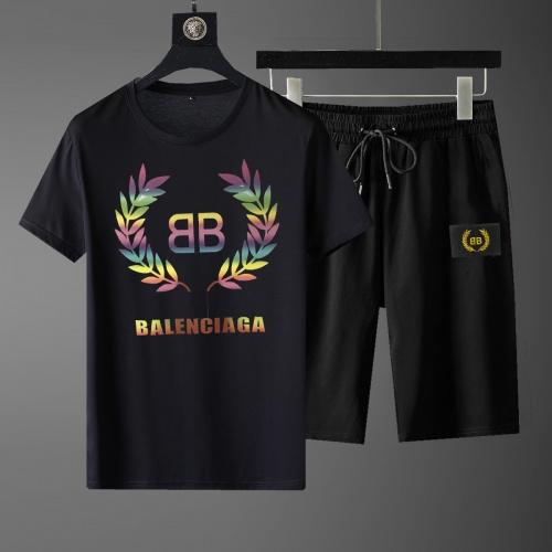 Balenciaga Fashion Tracksuits Short Sleeved For Men #881232