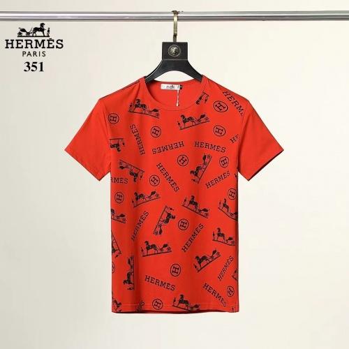 Hermes T-Shirts Short Sleeved For Men #882192