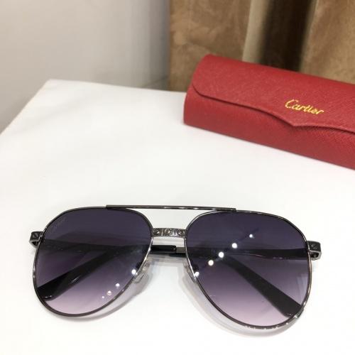 Cartier AAA Quality Sunglasses #882209