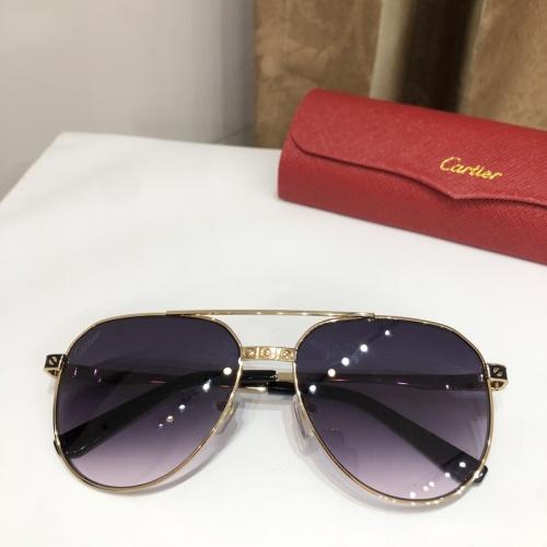 Cartier AAA Quality Sunglasses #882210
