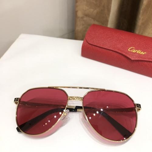 Cartier AAA Quality Sunglasses #882214