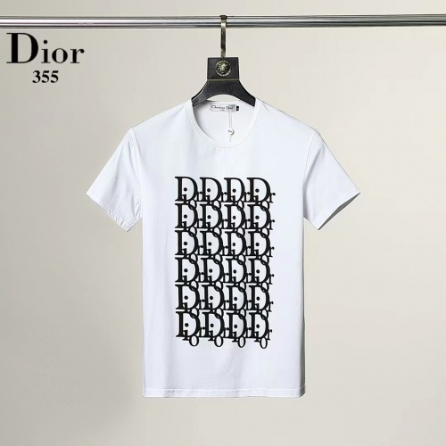 Christian Dior T-Shirts Short Sleeved For Men #882431