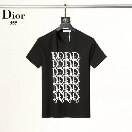 Christian Dior T-Shirts Short Sleeved For Men #882432