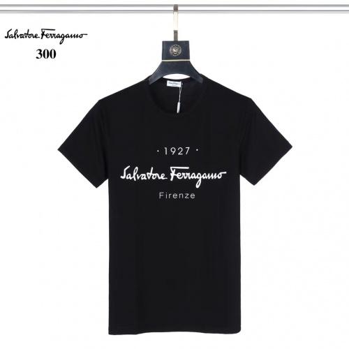 Ferragamo Salvatore FS T-Shirts Short Sleeved For Men #882460