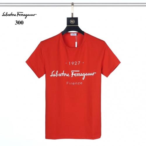 Ferragamo Salvatore FS T-Shirts Short Sleeved For Men #882462
