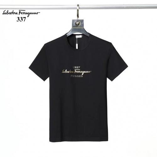 Ferragamo Salvatore FS T-Shirts Short Sleeved For Men #882463