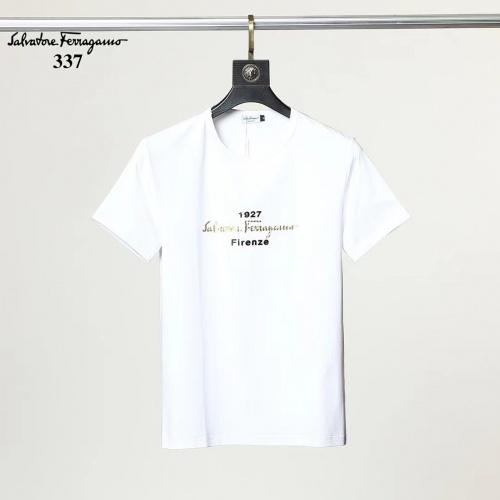 Ferragamo Salvatore FS T-Shirts Short Sleeved For Men #882465