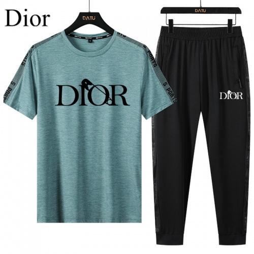 Christian Dior Tracksuits Short Sleeved For Men #882546