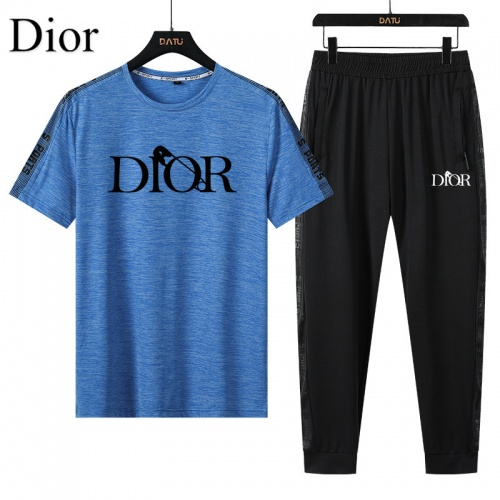 Christian Dior Tracksuits Short Sleeved For Men #882551