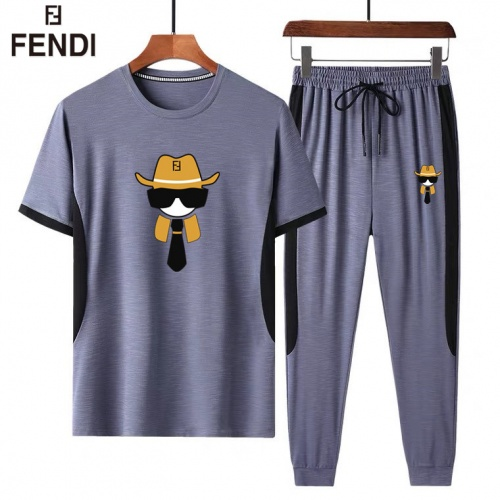 Fendi Tracksuits Short Sleeved For Men #882814