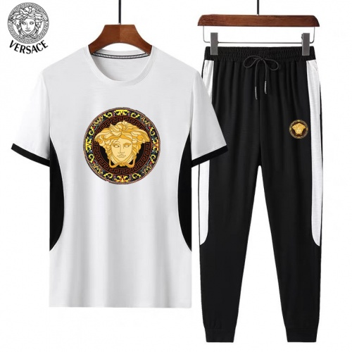 Versace Tracksuits Short Sleeved For Men #882827