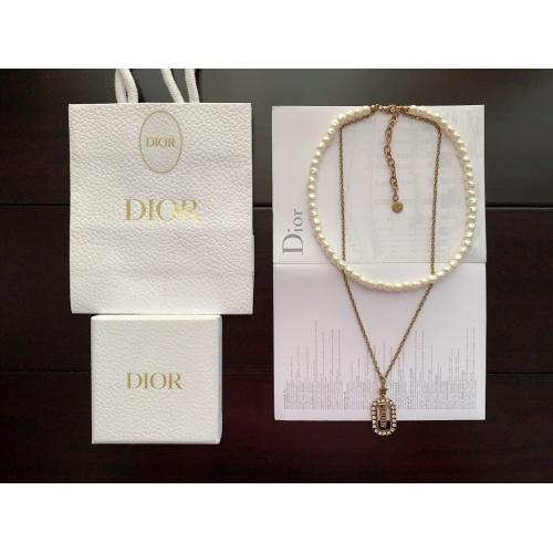 Christian Dior Necklace #883251 $39.00 USD, Wholesale Replica Christian Dior Necklace