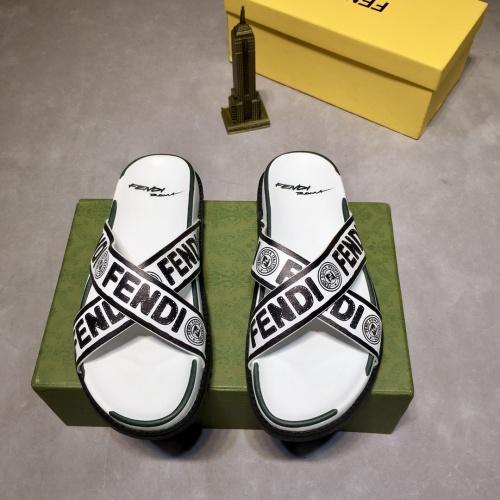 Fendi Slippers For Men #883318