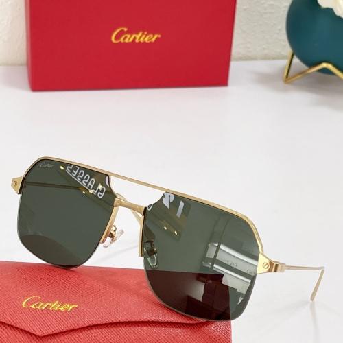 Cartier AAA Quality Sunglasses #883480