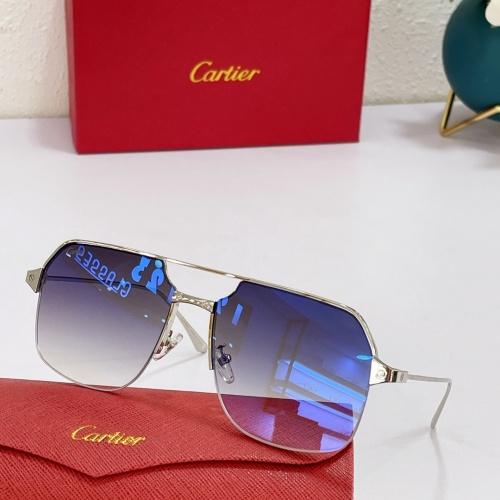 Cartier AAA Quality Sunglasses #883481